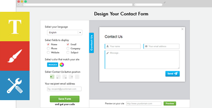 Professional Contact Form